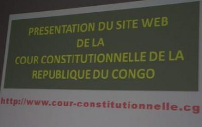 Mot de monsieur le président de la cour constitutionnelle prononce lors de la présentation officielle au public du site web de la cour constitutionnelle
