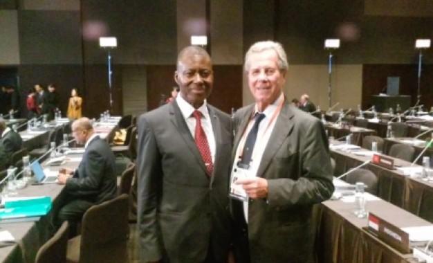Participation du président de la cour constitutionnelle de la république du Congo au 3em congrès de la conférence mondiale sur la justice constitutionnelle, a Seoul, en Corée du sud.